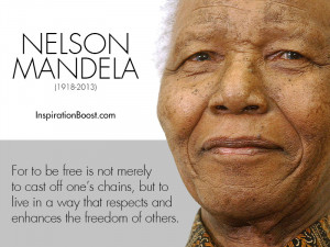Nelson Mandela Freedom Quotes