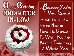 Happy Birthday Daughter Quotes From A Mother Wishing special birthday ...