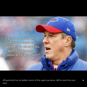Bills Quarterback Jim Kelly