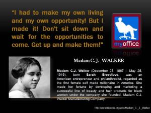 Madam C J Walker Quotes