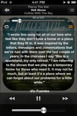 Vic Fuentes Quotes Tumblr Picture