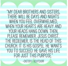 LDS Mormon Spiritual Inspirational thoughts and quotes (4) More