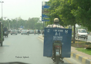 ... am Khan A-1 Naswar - Transport Nama - Funny stickers on motor cycles