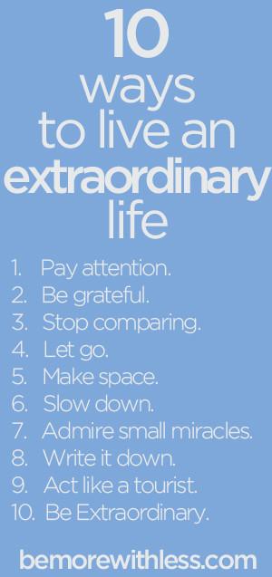 extraordinary life quotes quotesgram