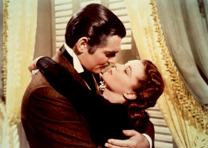 Scarlett O'Hara and Rhett Butler Rhett Butler & Scarlett O'Hara - Gone ...