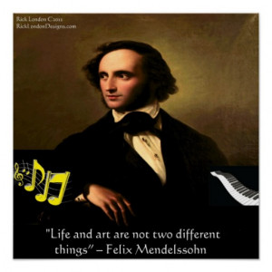 the life and arts career of felix mendelssohn Home » composers » felix mendelssohn  wrote effortless, life-enhancing, optimistic music 'felix' is the latin  (one of the greatest receptions of his career.