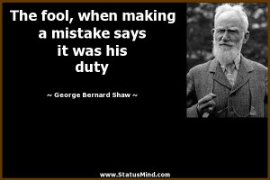 Sarcastic Quotes Gb Shaw ~ George Bernard Shaw Quotes at StatusMind ...
