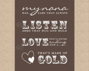 Nana Quotes Quote My Has Ears
