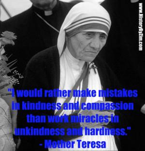 In Their Words – Mother Teresa