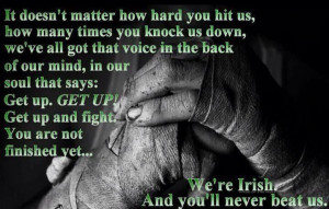 You can't beat the Irish
