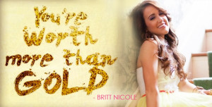 Britt Nicole's energetic video for her song Gold is so inspiring and ...
