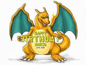 Pokemon Happy Birthday Josiah