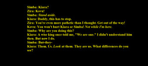 The Lion King 2 Quotes Lion king 2 quote by jaypaw234