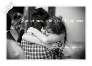 hug is all you need quote