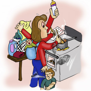 ... sorts you must be a working mom working moms really have a rough life