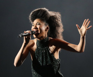 Judith Hill in 2013 at Target Center/ Star Tribune photo by Kyndell ...