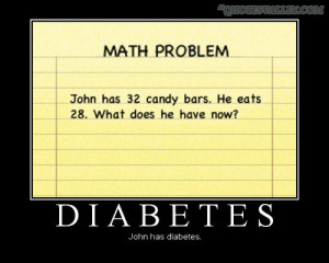 Funny Math Problem- John Has 32 Candy Bars, He Eats 28, What Does He ...