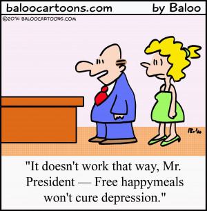 Bank Teller Cartoon Depression cartoon