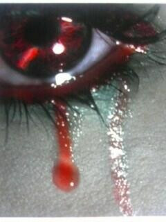 Pictures People Crying Blood