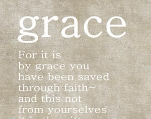 ... Scripture, Ephesians 2:8-9, Christmas Gift, Grace, Bible Quotes