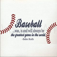 ... of the game baseball quote fine art home decor wall art photo print