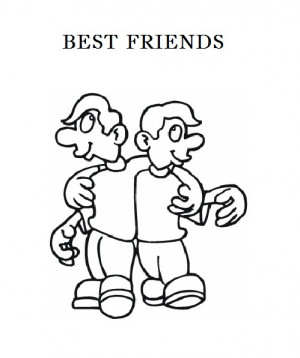 ... friendship s day by kawarbir friend meaning coloring pages greeting