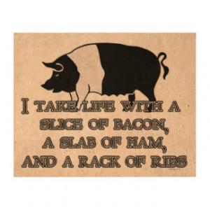 Funny Barbecue Sayings Artwork Prints