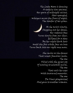 Moon Phases Poems Poem for the new moon