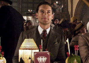 Tobey Maguire as Nick Carraway in 'The Great Gatsby.' (Photo: Warner ...