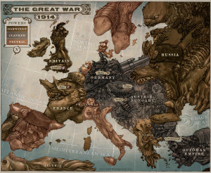 Austria Hungary is an aggressive armoured giant, teetering on shoddy ...