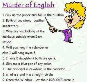 Of English by Correct sentence – Funny English Quotes. Very funny ...