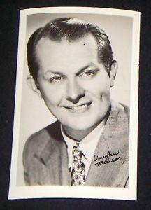 Vaughn Monroe 1940s 1950s Actors Penny Arcade Photo Card