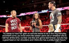 aj lee quotes - Google Search