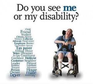 via Stop discrimination against special needs I think I said this ...