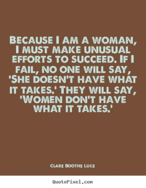 How to make image quote about success - Because i am a woman, i must ...