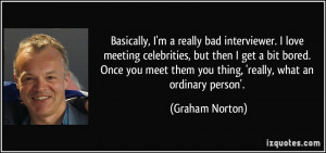 More Graham Norton Quotes