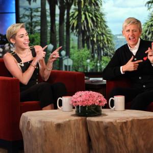Miley Opens Up to Ellen About Liam Split: