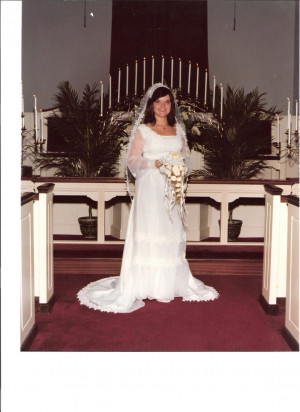 Here is a short pictorial directory of the day we were married ...