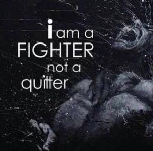liveanddominate: so am I. Mindset of a warrior.