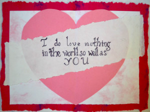 Valentines Day 2013 Greeting Cards with Love Quotes