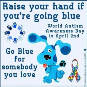 autism awareness more autism awareness autism asperger blue clues go ...