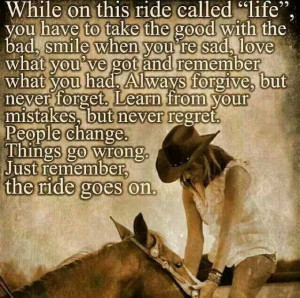 Cowboy wisdom!
