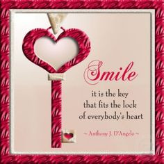 ... quotes heart reasons to smile keys beautiful smile motivation quotes