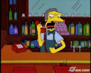 Line-O-Rama: The Simpsons' Moe Szyslak