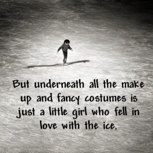... up and fancy costumes is just a little girl who fell in love with the