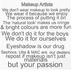 makeup quotes | Tumblr | We Heart It