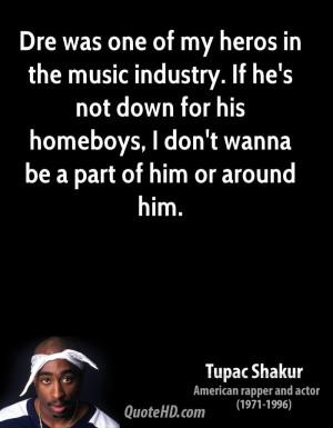 Tupac Shakur Music Quotes
