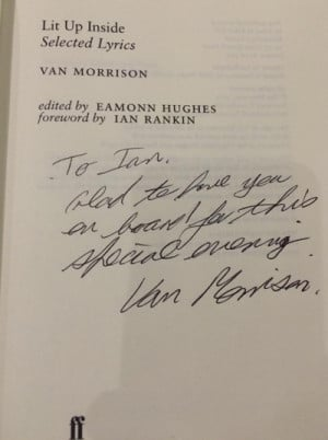 ... writer Ian Rankin, who wrote the foreword PHOTO COURTESY OF IAN RANKIN