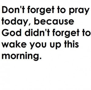 Thank you Lord for another day!