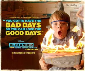 Alexander and the Terrible, Horrible, No Good, Very Bad Day Back To ...